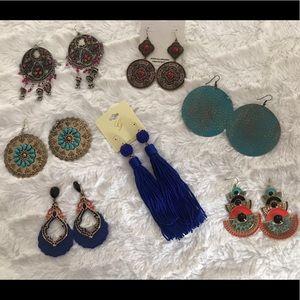 7 pairs of boho earrings from Fashion Nova & Aldo